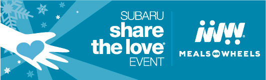 Subaru Share the Love Event - Meals On Wheels America
